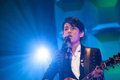 藤木直人、全国ツアー・東京公演でバースデーサプライズ 広瀬すずらコメント&イチローのサイン入りバットのプレゼントも