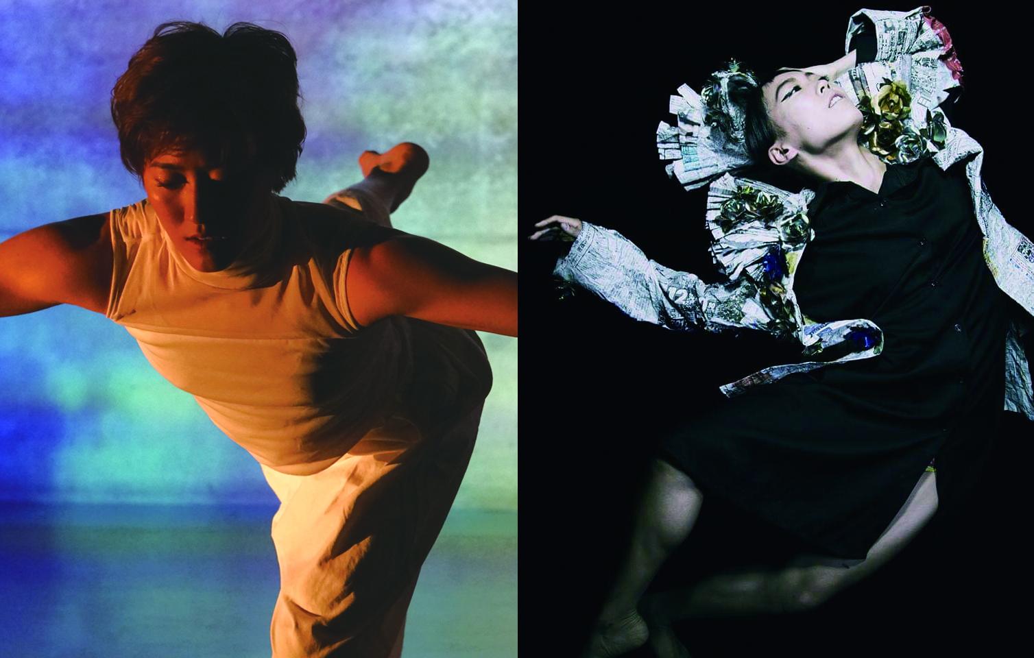 左・『ARTopia!』企画者でダンサーとして出演もする豊永洵子 右・豊永と共に『ARTopia!』をプロデュースし、新作ダンスの振付も担当する井田亜彩実