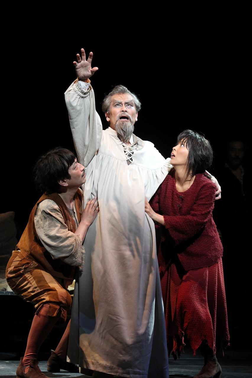 ミュージカル『ラ・マンチャの男』(2012年8月帝劇公演より)  写真提供/東宝演劇部