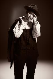 堂珍嘉邦、日露共同製作映画『ハチとパルマの物語』テーマソングとGAINA製作アニメ『愛姫 MEGOHIME』主題歌を含むシングル4月発売決定