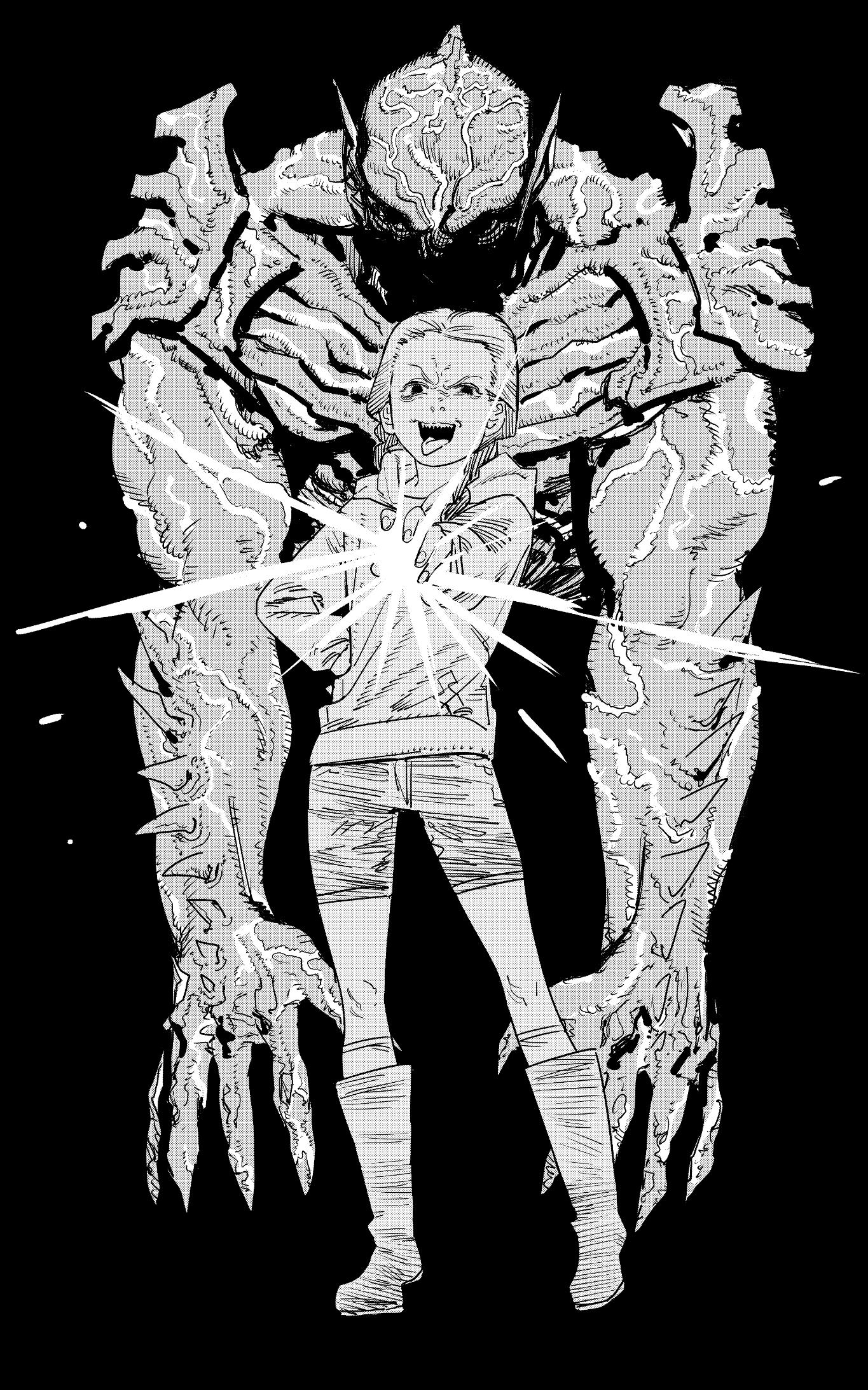 藤本タツキ氏描き下ろし『サイコ・ゴアマン』イラスト
