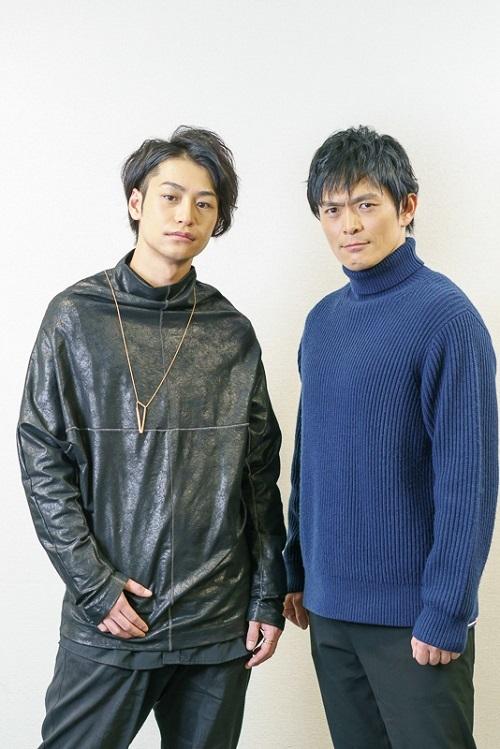 パラノイア★サーカス出演の小澤亮太と井俣太良 撮影=坂井美碧織