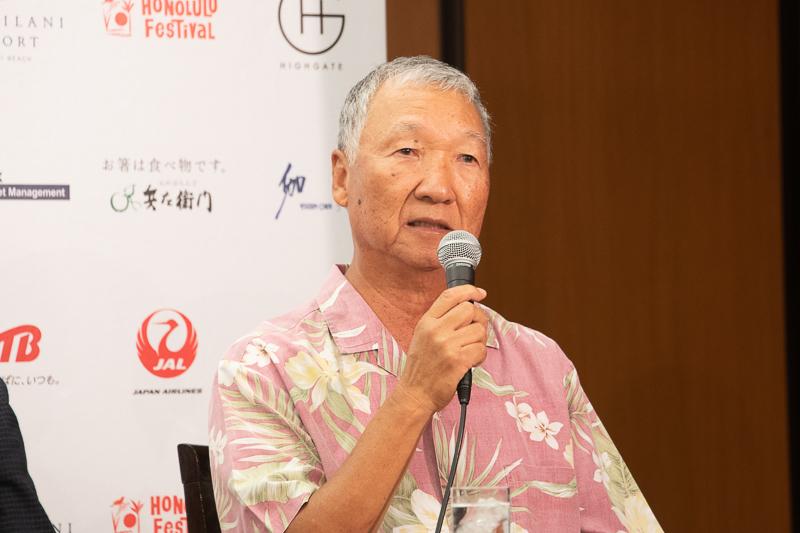 ホノルルフェスティバル財団 理事 渡辺達夫氏