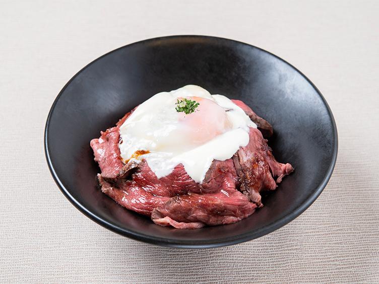 牛カツ専門店 京都勝牛の「ローストビーフ丼」