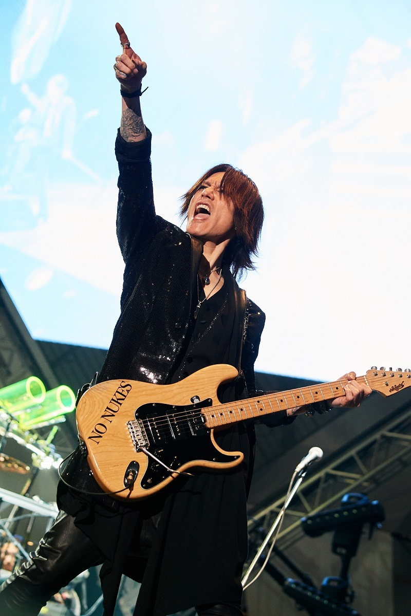 SUGIZO/LUNA SEA The Holy Night 2017 2017.12.24(SUN)さいたまスーパーアリーナ