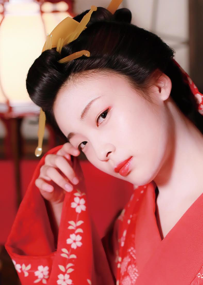 映画『HOKUSAI』麻雪役・芋生悠 (C)2020 HOKUSAI MOVIE