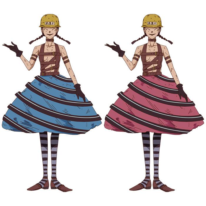 画像左)愛茸/ 画像右)舞茸(CV:鵜殿麻由)煙の経営するレストランで働いている変身できる魔法使い。