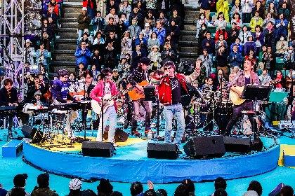シークレットゲストは世良公則、 都会の真ん中で大人のための音楽祭『靭公園MUSIC FESTA FM COCOLO~風のハミング』をレポ―ト