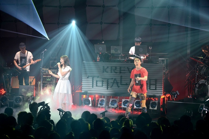 KREVA&増田有華『CONCERT TOUR 2017「TOTAL 908」』撮影=半田安政