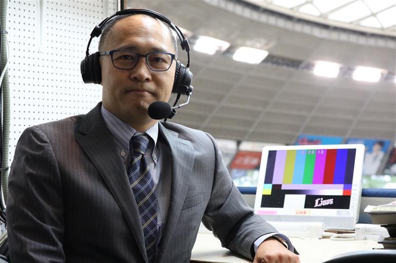 『みんなでオンライン観戦』の東北楽天ゴールデンイーグルス戦でMCを務める加藤暁氏