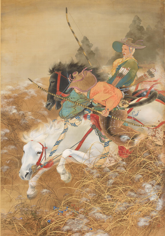 《かりくら》右 明治43年(1910) 櫻谷文庫蔵