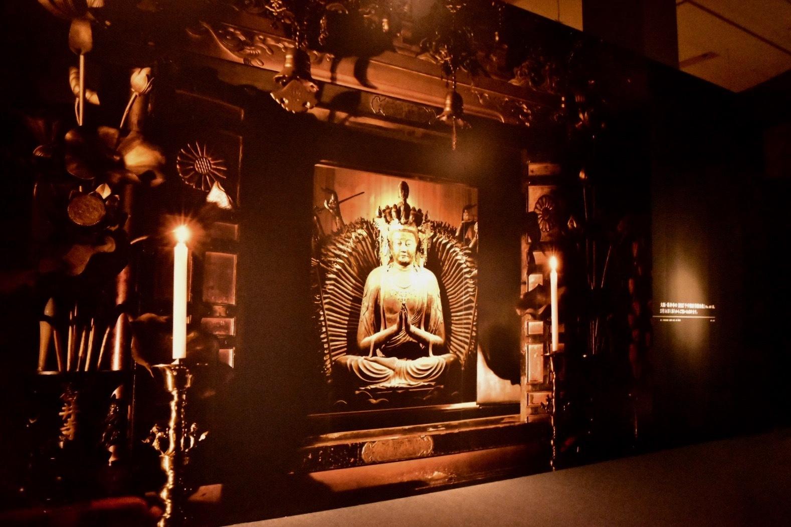 国宝 千手観音菩薩坐像 奈良時代 大阪・葛井寺(後期展示)