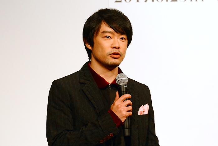 尾上寛之 舞台「MOJO」製作発表記者会見