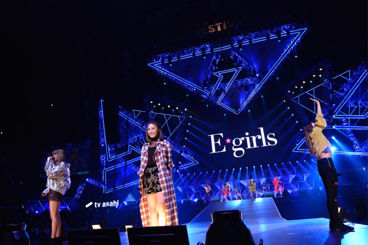 E-girls 撮影=岸田哲平