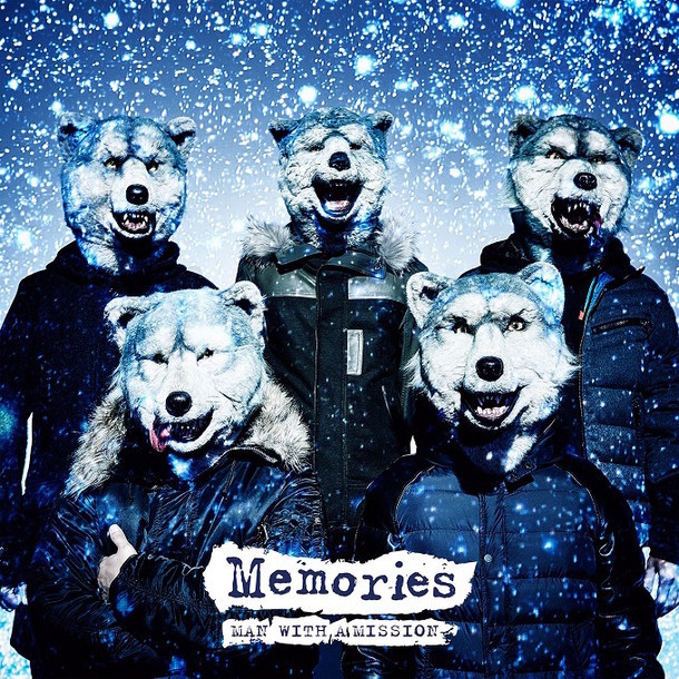 MAN WITH A MISSION「Memories」配信ジャケット