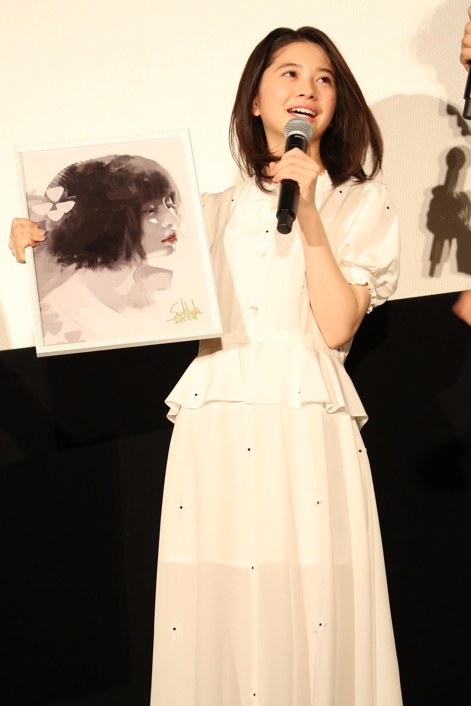 桜田ひより 『東京喰種 トーキョーグール』初日舞台あいさつ
