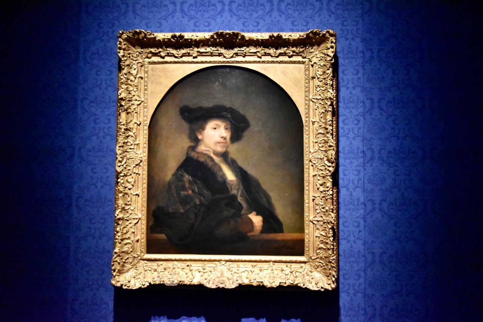 レンブラント・ハルメンスゾーン・ファン・レイン《34歳の自画像》1640年