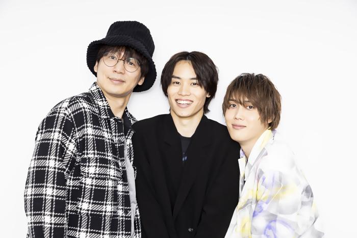 (左から)磯貝龍乎、太田将熙、碕理人