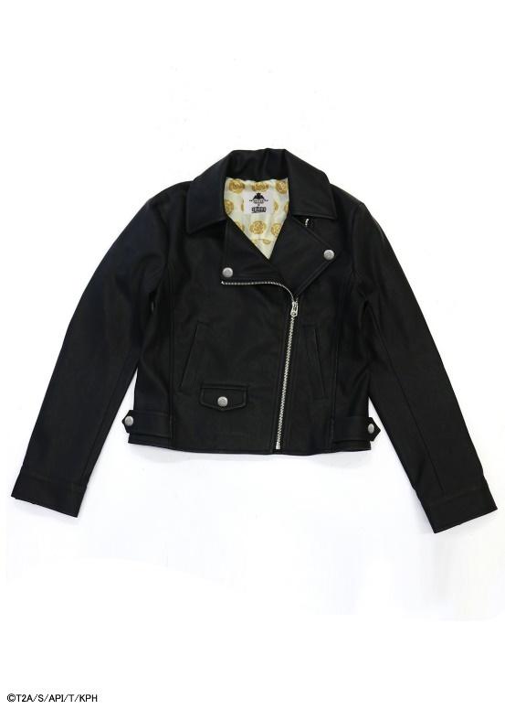 キンプリ×スピンズ黄薔薇ダブルライダースジャケット ¥7,999(税抜き)