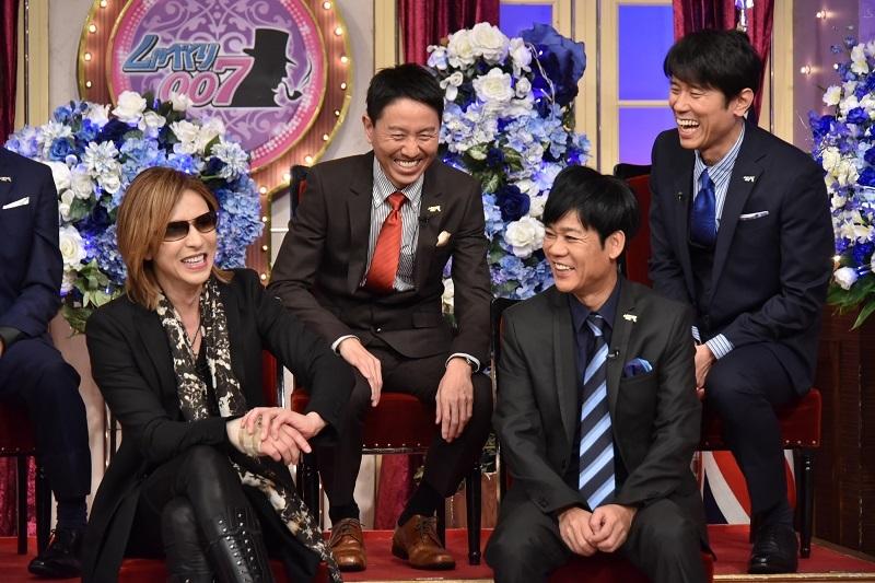 YOSHIKI (C)日本テレビ『しゃべくり007 SP』
