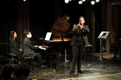 コハーン・イシュトヴァーン(クラリネット)と中野翔太(ピアノ)が奏でる「自由にセッションするクラシック」