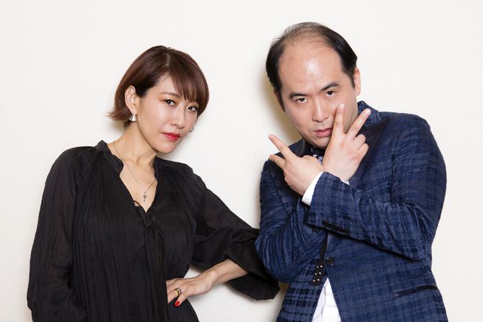 左から朴璐美、斎藤司(トレンディエンジェル)  (撮影:中田智章)