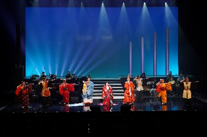 本物の装束を纏った天童よしみらがジャンルを超えた音楽を届ける Musical Variety『三都物語』オフィシャルレポート
