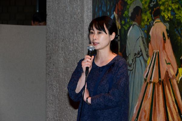 東京都美術館の大橋奈都子学芸員