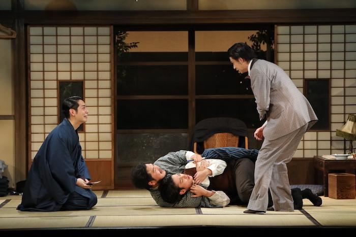 舞台『絢爛とか爛漫とか』のゲネプロの様子 (オフィシャル提供、撮影=神ノ川智早)