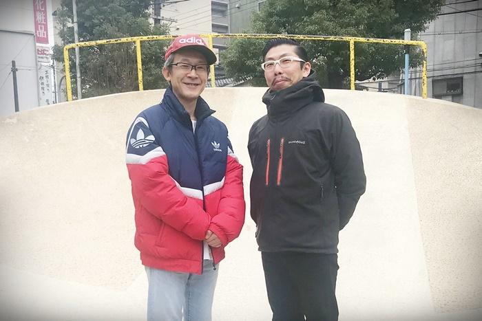 (左から)工藤俊作(プロジェクトKUTO-10)、村角太洋(THE ROB CARLTON)。