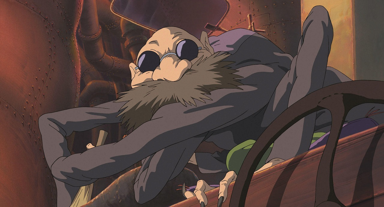 釜爺  (C)2001 Studio Ghibli・NDDTM