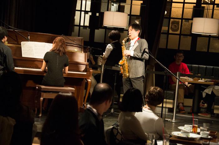 上野耕平(うえの こうへい) Saxophone  撮影:平田貴章