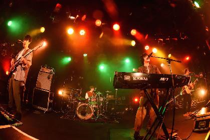 SHE'S 好発進の最新アルバム『Tragicomedy』記念配信ライブ@渋谷クアトロを観た