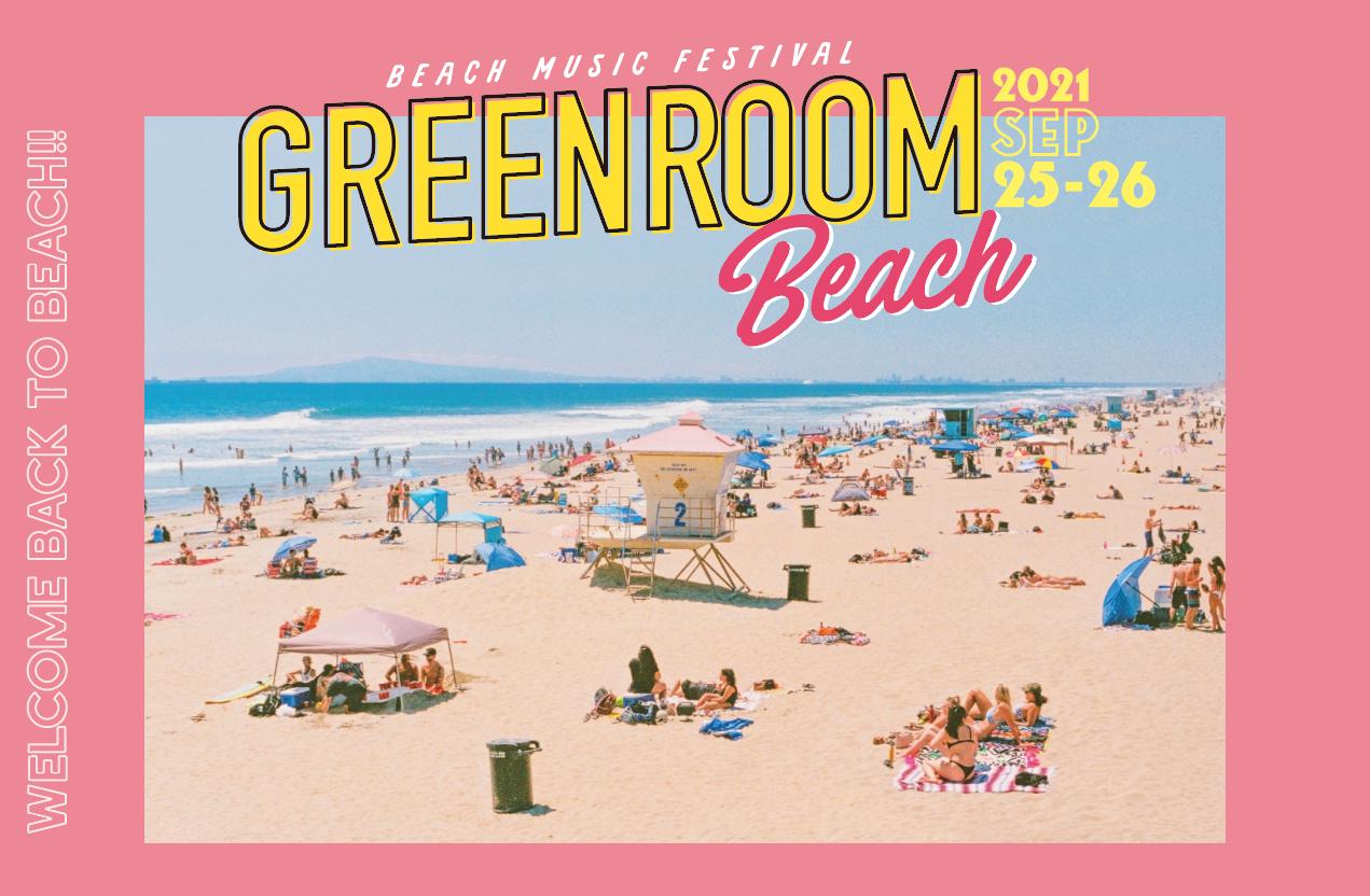 『GREENROOM BEACH』