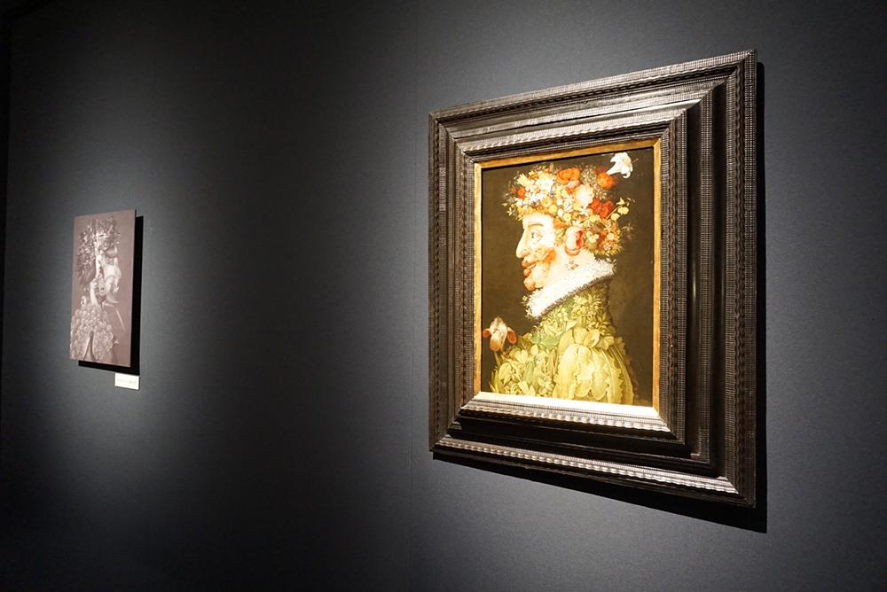 ジュゼッペ・アルチンボルド《春》 1563年 油彩/板 マドリード、王立サン・フェルナンド美術アカデミー美術館蔵 © Museo de la Real Academia de Bellas Artes de San Fernando. Madrid