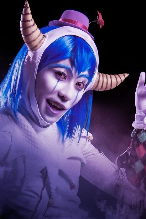 ハーレクイン役 田中彪 (C)藤田和日郎・小学館/舞台劇「からくりサーカス」製作委員会