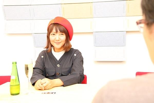 まさかの記者に逆インタビューの桃井はるこさん 撮影:大野要介