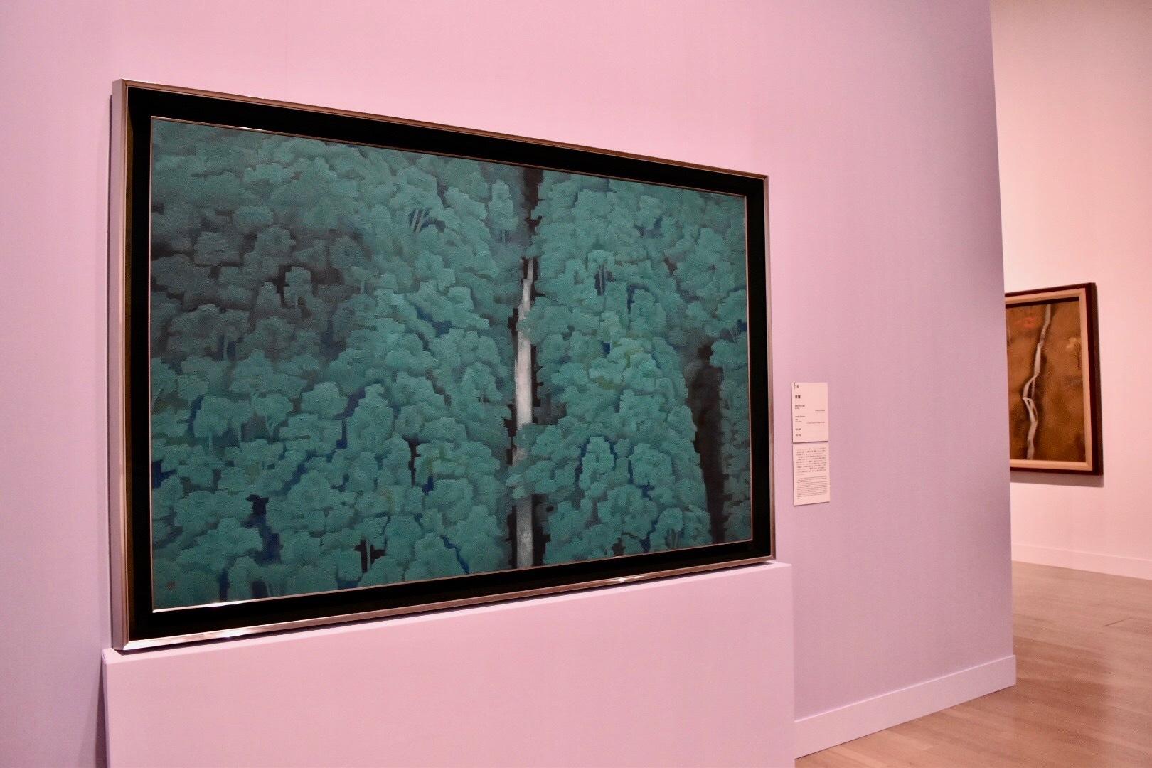 《青響》 昭和35年 東京国立近代美術館蔵