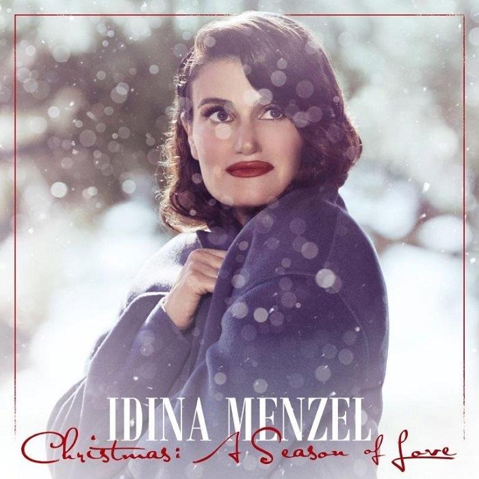 IDINAMENZEL_Christmas+A Season of Loveジャケット写真