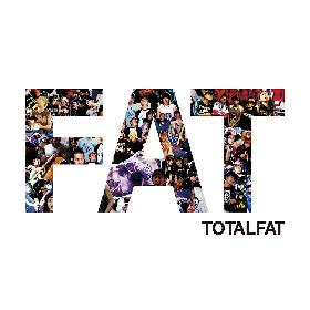 TOTALFATが新アルバム『FAT』の収録詳細とジャケットワークを解禁