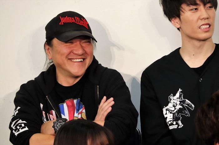 そんな橋本さんを見てニコニコ笑顔のいのうえさん
