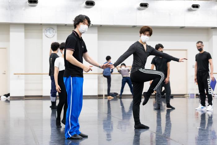 東京バレエ団『M』リハーサル ©Shoko Matsuhashi