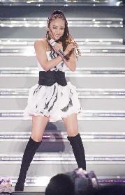 安室奈美恵、「TRY ME」から「愛してマスカット」まで初期曲も惜しみなく披露した、デビュー25周年記念ライブがWOWOWでオンエア