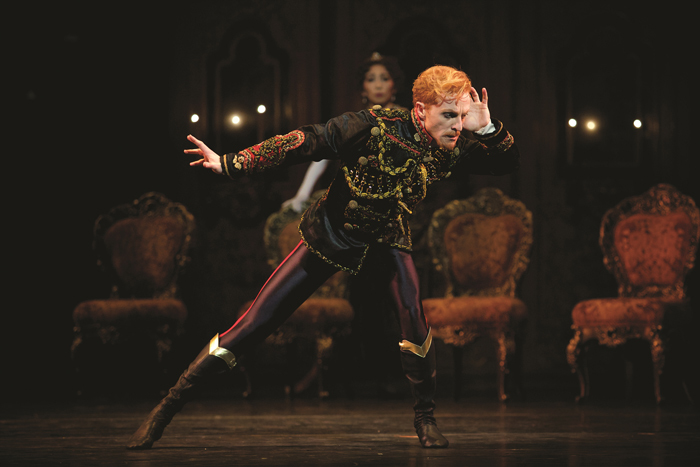 MAYERLING Steven McRae as Crown Prince Rudolf in Kenneth MacMillans production of Mayerling for The Royal Ballet (c)