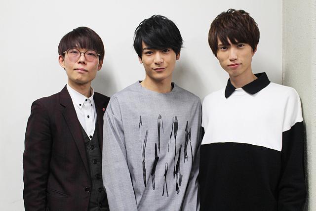 (左から)ほさかよう、小早川俊輔、佐伯亮