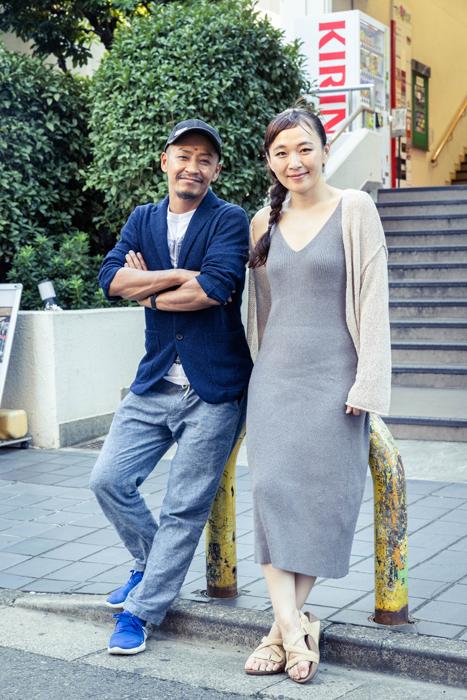 (左)成清正紀 (右)桑原裕子  (撮影:高橋定敬)