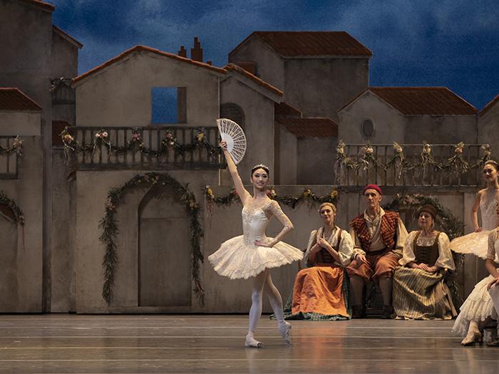 Akane Takada in The Royal Ballet's Don Quixote   (c) ROH 2019. Photo by Andrei Upenski