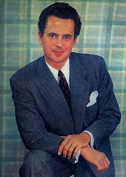 ラリー・パークス。「ジョルスン物語」でアカデミー賞主演男優賞候補となるも、その後1950年代のハリウッドを震撼させた、共産党員や左翼的発言者を摘発する「赤狩り」の犠牲となり、映画出演は激減した。