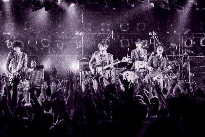 THE BAWDIES キャリア史上最高に痛快で洗練されたロックサウンドを響かせる最新アルバム『Section #11』ツアー開幕