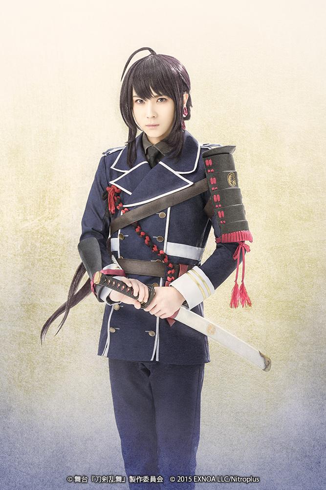 鯰尾藤四郎:前嶋 曜 (C)舞台『刀剣乱舞』製作委員会 (C)2015 EXNOA LLC/Nitroplus